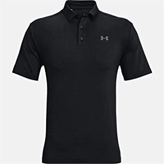 Under Armour Men's Playoff 2.0 Polo T Shirt with Short Sleeves, Short Sleeve Polo Shirt with Sun Protection