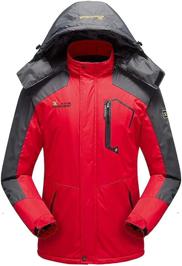 Men's Windproof Denver Mall Waterproof Jacket Winter Mountain Ski Oklahoma City Mall Hooded Bre