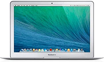Apple MacBook Air MD760LL/A Intel Core i5-4250U X2 1.3GHz 4GB 256GB SSD 13.3in, Silver (Renewed)