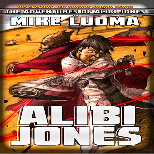 Alibi Jones audiobook cover art