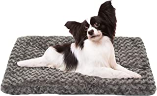 Auboa Deluxe Cat Dog Bed Plush Pet Sleeping Mats Ideal for Crate Kennel Cage House Durable Washable Small Medium Extra Large Cushion Mattress