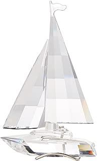 Swarovski Crystal Sailboat Retired 2004 #183269