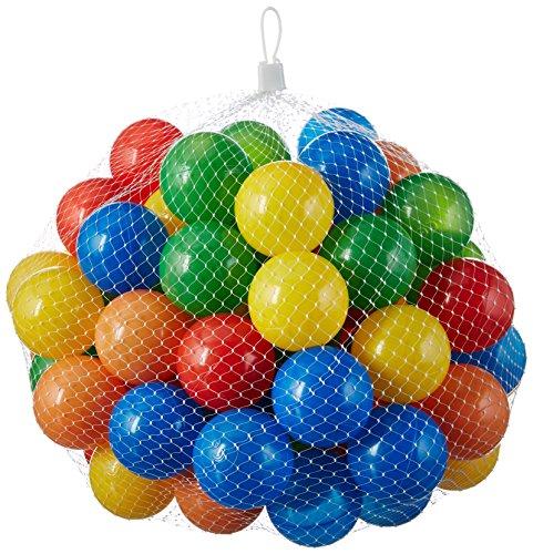 1000 Stück bunte Bälle für Kinder, Babys und Tiere , 55mm Durchmesser Kinder ab 0