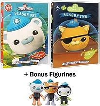 Octonauts: TV Series Complete Seasons 1 & 2 - 76 Episodes + Bonus Barnacles, Kwazii, & Peso Figurines