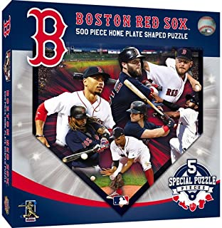 MasterpiecesBoston Red Sox Sports Shaped 500pc. Puzzle