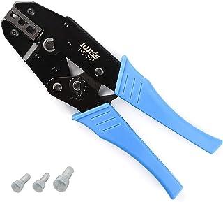 アイウィス(IWISS) 絶縁被覆付閉端接続子 CE1/2/5 圧着工具 圧着ペンチ ラチェット式 HS-103