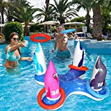 Best Beach Toys For Adults - JOINBO Inflatable Pool Ring Toss Games Toys,Swimming Game Review