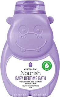 3 Pack of Earthwise Nourish Baby Bedtime Bath 275ml