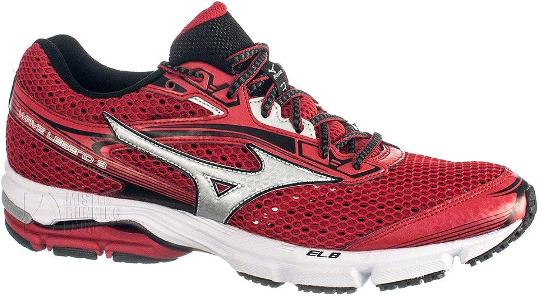 Mizuno Wave Legend 3 Red shoes 2015
