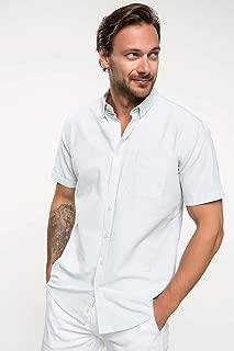 DeFacto Oxford Kısa Kollu Gömlek