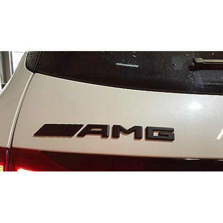 Amg Emblem Schriftzug Typenschild Logo Schwarz Für Alle Modelle Auto