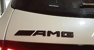 AMG Emblem Schriftzug Typenschild Logo Schwarz für alle Modelle