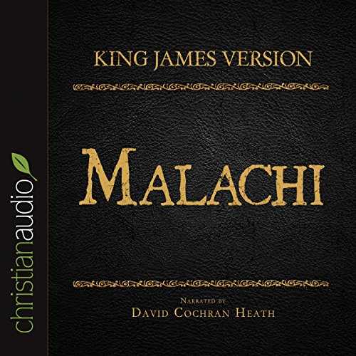Holy Bible in Audio - King James Version: Malachi audiobook cover art