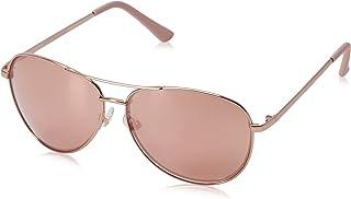 Women's Hannah Aviator Sunglasses, Rose/Rose Gold Mulit...