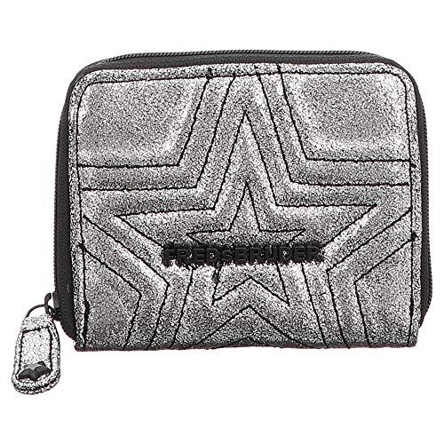 FREDsBRUDER Damenbörse, Musca Pocket Coin, RV, Silver