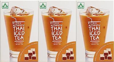 Authentic Thai Iced Tea Flavored Black Tea – Pack of 3