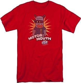 Paints Your Mouth Adult Ringer T Shirt Dubble Bubble
