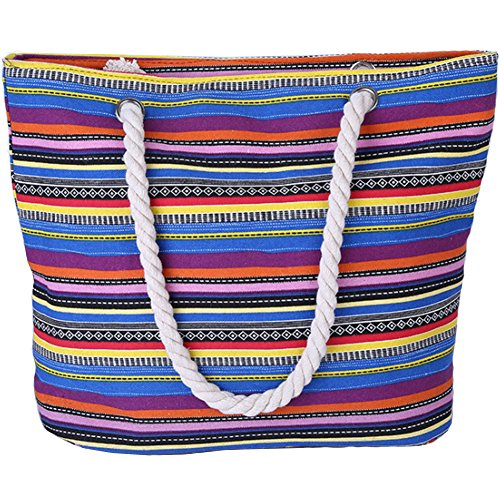 AuBer Canvas Bag Beach / Holiday Bag