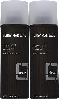 Every Man Jack Sensitive Skin Shave Gel-7 oz, 2 pk