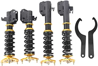 Shock Absorber and Bracket Car Car Accessories Coilover Shock Absorbers Fit for Subaru Impreza 02‑ 07 for WRX GDB 04 STI 2...