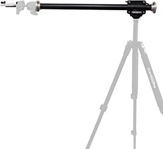 The OverHead Pro 2-in-1 Arm - Sturdy Tripod Boom Arm for Smartphone and DSLR Photography Videography Food Recipe Product Unboxing Illustration Knitting Flat Lay
