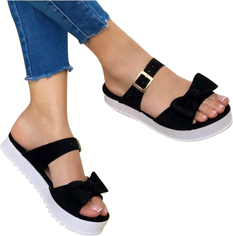 Kamendita Women Wedge Sandals Casual Peep Summer El Paso Mall To Max 53% OFF