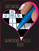 Crossword Framework Puzzle Book: Crossword Puzzles Book for Seniors with Today's Contemporary Dictionary Words As Brain Games ... Brain Games Extra Crossword