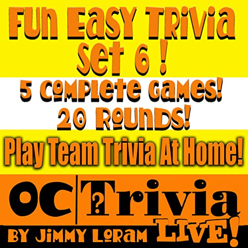 Fun Easy Trivia Set 6: An OC Trivia LIVE! Game Book  By  cover art