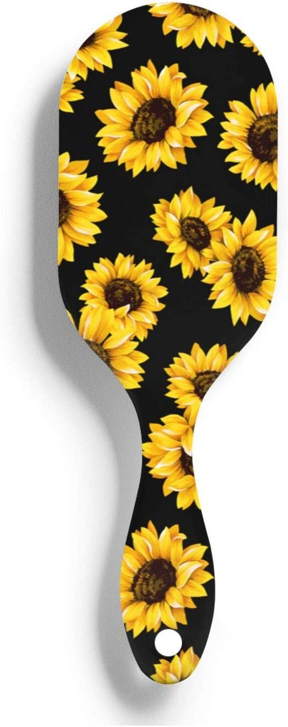 Yellow Sunflwer Nylon Hair Ranking TOP20 Wholesale Brush Smoothing Wet For Mass Dry