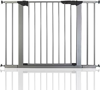 comprar comparacion BabyDan Premier - Bebé Puerta de la Escalera Barrera de Seguridad Plata, 99-106,3cm