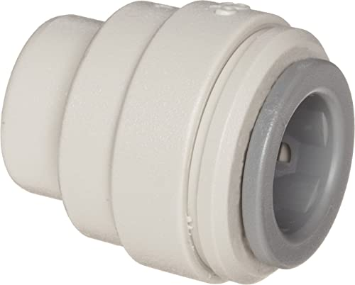"""high quality John Guest Acetal discount Copolymer Tube Fitting, End Stop, outlet sale 1/4"""" Tube OD (Pack of 10) online sale"""
