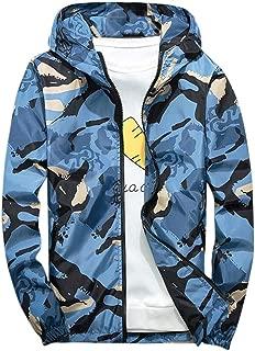 LISTHA Camouflage Hooded Jacket Mens Hoodie Waterproof Windproof Outdoor Coat