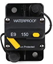 T Tocas 150 Amp Circuit Breaker with Manual Reset, 12V- 72VDC, Waterproof (150A)
