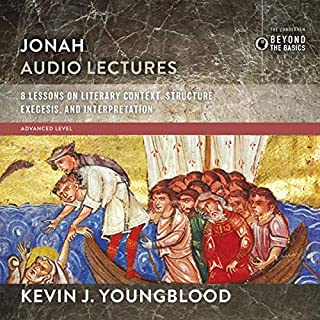 Jonah: Audio Lectures     8 Lessons on Literary Context, Structure, Exegesis, and Interpretation              Written by:                                                                                                                                 Kevin J. Youngblood                               Narrated by:                                                                                                                                 Kevin J. Youngblood                      Length: 2 hrs and 54 mins     Not rated yet     Overall 0.0