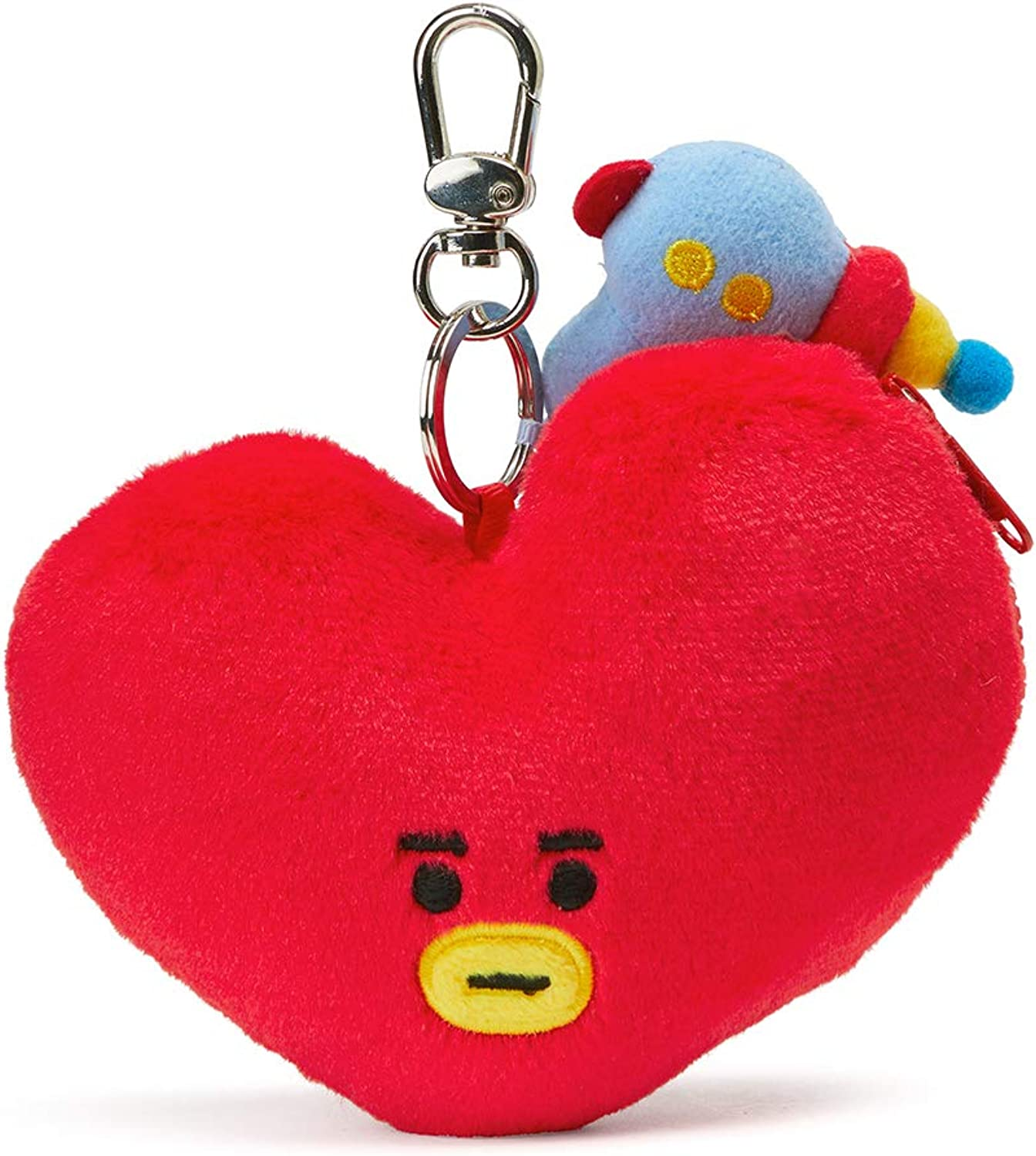 BT21 Official Merchandise by Line Friends  Character Keychain Coin Purse Bag Charm