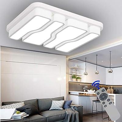 BFYLIN 64W LED Regulable Moderno Techo Lámpara De, Techo Pasillo ...