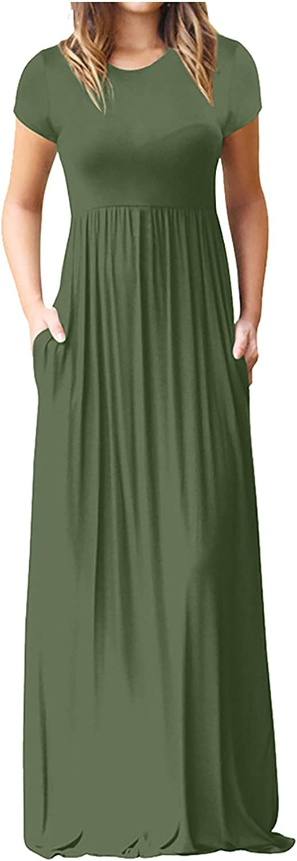 Hotkey Dresses for Women Empire Waist High quality Long Dress Daisy Butterfly OFFicial