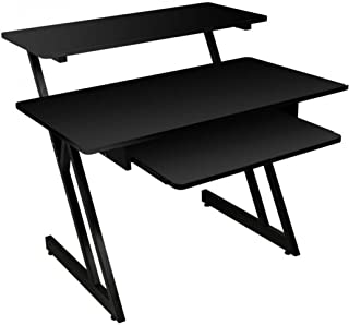 On-Stage WS7500 Series Wood Studio Workstation - Black