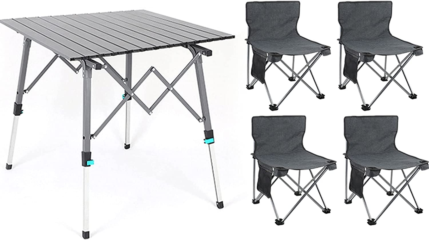Camping Table Chairs Aluminum Folding Colorado Springs Mall Special sale item The and Chair H Set
