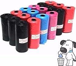 takestop/® Set 270 Pezzi Sacchetti BUSTINE IGIENICI per Escrementi Cane Gatto Cani Gatti Raccolta FECI Colori Casuali