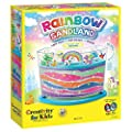 Creativity for Kids Rainbow Sandland - Make Your Own Sensory Sand Art for Kids - Arts and Crafts for Kids Age 6+