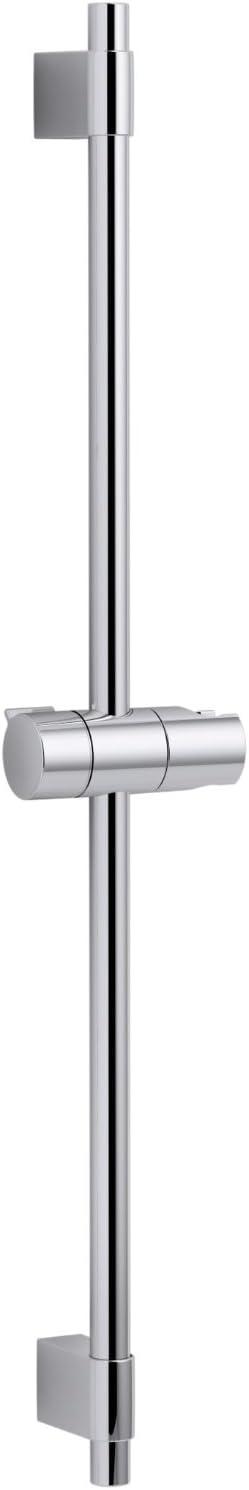 KOHLER K-98341-CP Awaken 24-Inch Shower Slidebar Polished Chrome