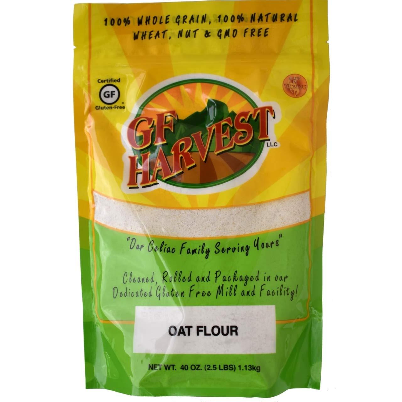 GF Harvest Gluten Free Bargain Oat Flour of Ounce Pack [Alternative dealer] 40 6