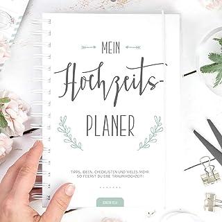 Hochzeitsplaner: So feierst du deine Traumhochzeit, 250 Seiten Hochzeitsplaner Buch, Deutsch, Wedding Planner, Checklisten...