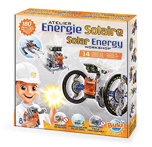 Buki- Energie Solaire 14 en 1, 7503, Gris