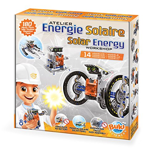 Buki- Solar Energy 14 en 1, 7503, Gris