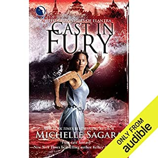 Cast in Fury     Chronicles of Elantra, Book 4              Written by:                                                                                                                                 Michelle Sagara                               Narrated by:                                                                                                                                 Khristine Hvam                      Length: 14 hrs and 3 mins     1 rating     Overall 5.0