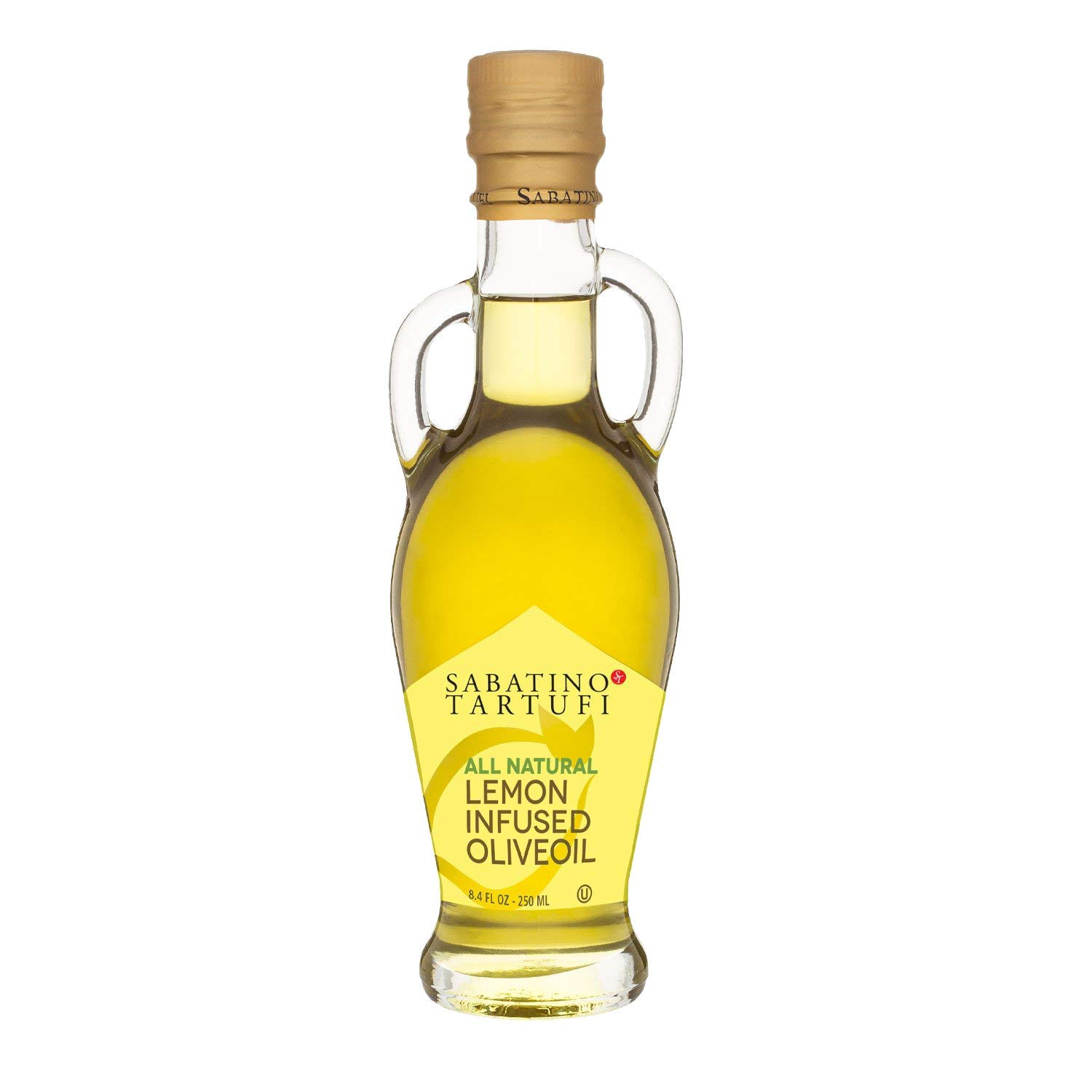Sabatino Lemon Finally resale start Infused Olive Oil Pack 1 Ounce 8.5 Max 58% OFF of