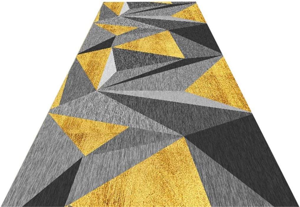WenFei shop Runner Carpets Excellence Corridor Geometric Non-Slip Super popular specialty store W Modern