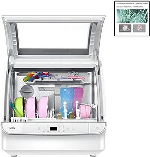Dongyibing Lavavajillas Lavavajillas Automático para El Hogar Productos para Niños Lavadora Se Pueden Secar Varios Métodos De Instalación (Color : Blanco, Size : 48.5 * 37 * 47.5cm)